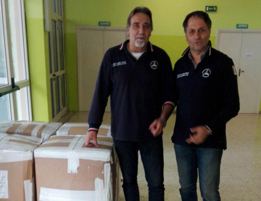 Consegna trapunte a San Benedetto
